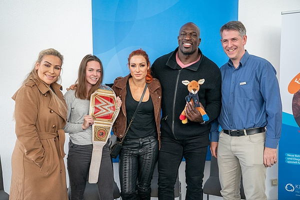 WWE-Superstars zu Gast am KiTZ