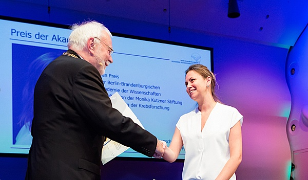 Ana Banito received the award of the Berlin-Brandenburg Academy of Sciences (BBAW)